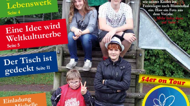 Wohnen '54 – Sommer 2015