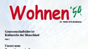 Wohnmagazin Ausgabe Winter 2016 ist online