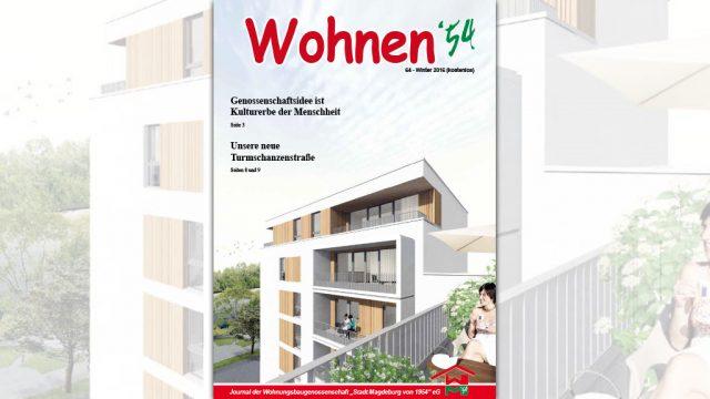 Wohnen '54 – Winter 2016