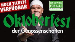 Oktoberfest der Genossenschaften mit TOP Star DJ Ötzi