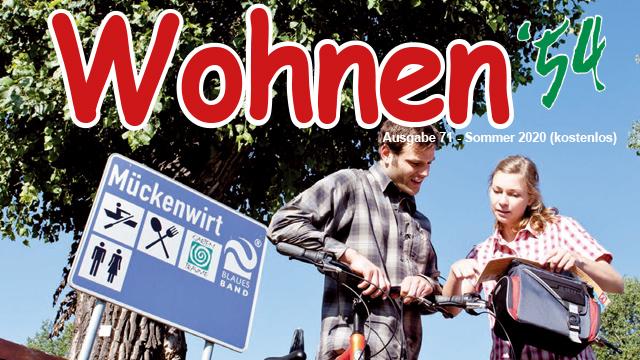 Wohnen '54 – Ausgabe Sommer 2020