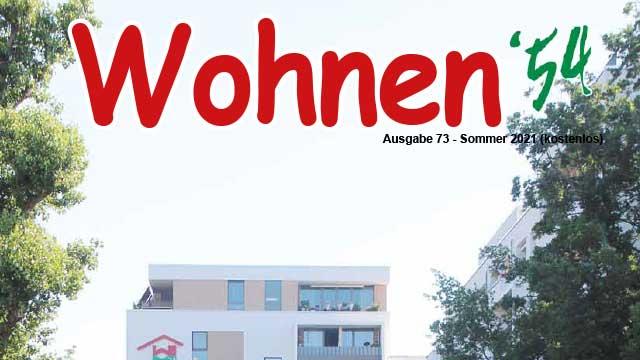 Wohnen '54 – Ausgabe Sommer 2021